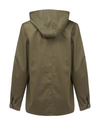 Lemaire - Green Olive Military Parka for Men - Lyst
