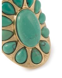 Aurelie Bidermann | Green 'navaho' Ring | Lyst