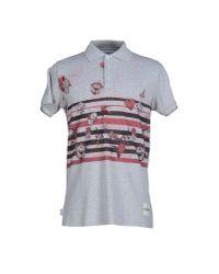 Blomor - Gray Polo Shirt for Men - Lyst