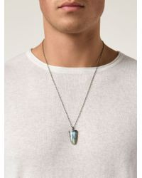 Joseph Brooks | Blue Pendant Necklace for Men | Lyst
