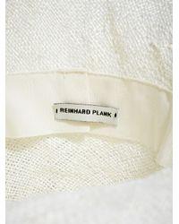 Reinhard Plank - White New Season - Mens Comme Boa Straw Hat for Men - Lyst