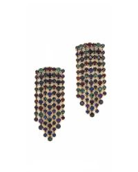 Erickson Beamon | Black Hyperdrive Waterfall Earrings | Lyst