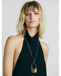 Free People | Black Sexy Back Cindy Dress | Lyst