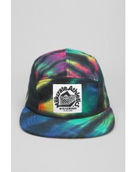 92fb90274fda98 Urban Outfitters Athletics Tiedye 5panel Hat in Blue for Men - Lyst