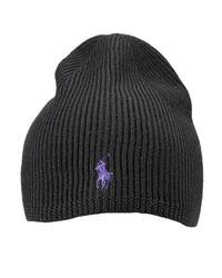 Polo Ralph Lauren - Black Hat for Men - Lyst