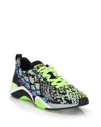 Ash - Green Hit Knit Sneakers for Men - Lyst
