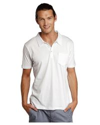 Threads For Thought - White S/s Pocket Polo for Men - Lyst