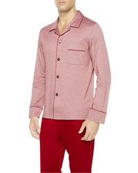La Perla   Red Fresh Touch Pyjama With Button-through Fastening for Men   Lyst