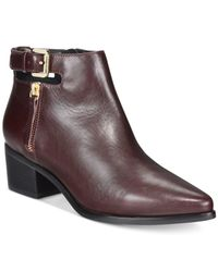 Geox | Purple D Lia Ankle Booties | Lyst