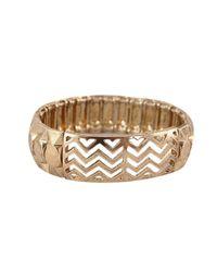 Ziba | Metallic Signature Anaelle Bracelet | Lyst