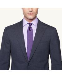 Ralph Lauren Black Label - Black Peakedlapel Nigel Suit for Men - Lyst