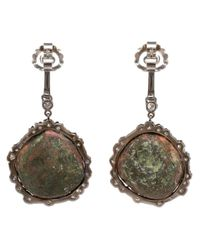 Kimberly Mcdonald | Multicolor Diamond And Geode Earrings | Lyst