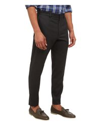 McQ | Gray Peg Leg Trouser for Men | Lyst