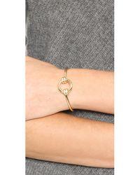 Elizabeth and James | Metallic Sabi Cuff Bracelet | Lyst