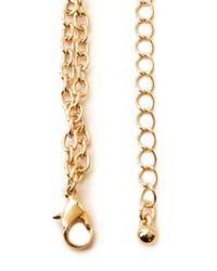 Forever 21 - Metallic Glamour Body Chain - Lyst