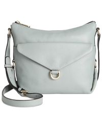 DKNY | Blue Crosby Top Zip Crossbody | Lyst