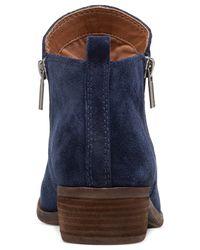Lucky Brand | Blue Women's Basel Booties | Lyst