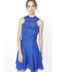 Liu Jo | Blue Short Dress | Lyst