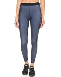 Ultracor | Blue Cobra Print Leggings - Teal | Lyst