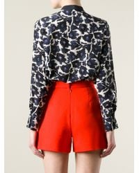 Mother Of Pearl - Blue Hanum Bow Shirt - Lyst