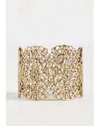 Ana Accessories Inc | Metallic Filigree's A Crowd Bracelet | Lyst