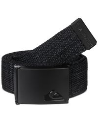 Quiksilver | Black Loot Belt for Men | Lyst