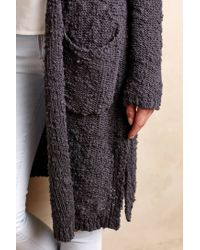 Knitted & Knotted   Gray Daybreak Cardigan   Lyst