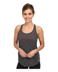 Under Armour - Black Ua Waterly Tank - Lyst