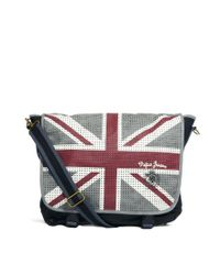 Pepe Jeans | Black Messenger Bag for Men | Lyst