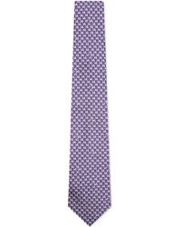 Turnbull & Asser | Dove Silk Tie, Men's, Purple for Men | Lyst