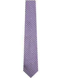 Turnbull & Asser | Dove Silk Tie, Men's, Purple for Men | Lyst