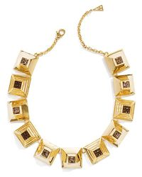 Sarah Magid | Metallic Cubist Block Necklace | Lyst