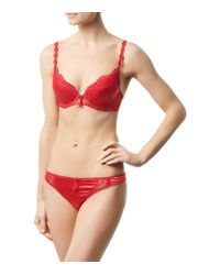 Dita Von Teese - Red Star Lift Push Up Bra - Lyst