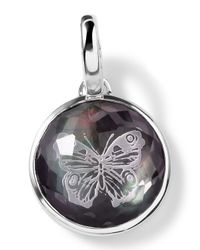 Ippolita - Metallic Sterling Silver Butterfly Intaglio Charm - Lyst