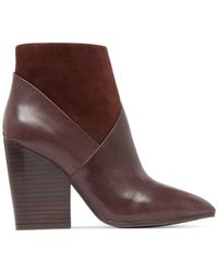 Vince Camuto   Brown Raylan Ankle Booties   Lyst