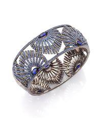 Adriana Orsini - Metallic Phoenix Crystal Bangle Bracelet - Lyst