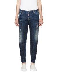 DSquared² - Blue Midnight Thunder Hockney Jeans - Lyst