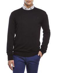 Moods Of Norway - Black Simen Loen Wool Sweater for Men - Lyst