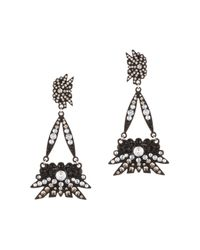 Lulu Frost | Larkspur Drop Earring - Black | Lyst