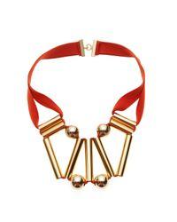 Marion Vidal | Metallic Golden Sphere Pendant | Lyst