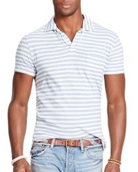 Ralph Lauren | Blue Polo Stripe Jersey Polo Shirt - Regular Fit for Men | Lyst