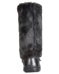 INC International Concepts - Black Soffy Faux Fur Cold Weather Boots, Only At Macy's - Lyst