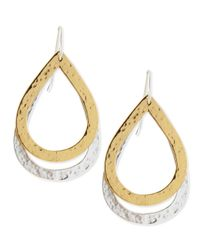 Stephanie Kantis | Metallic Paris Double-drop Medium Earrings | Lyst