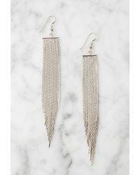 Forever 21 | Metallic Lucky Star The Strand Earrings | Lyst