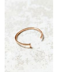 Giles & Brother | Metallic Mini Railroad Spike Cuff Bracelet | Lyst