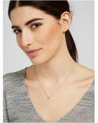 BaubleBar - Metallic Hollywood Letter Pendant - Lyst