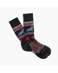 J.Crew | Gray Chup Smartwool Socks for Men | Lyst
