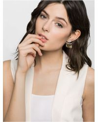 BaubleBar - Metallic Warrior Fringe Ear Jackets - Lyst