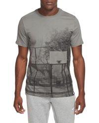 Nike | Gray 'af-1 Brooklyn Court' Sportswear T-shirt for Men | Lyst