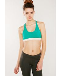 Move By Alternative - Green Keep It Simple Sports Bra - Lyst
